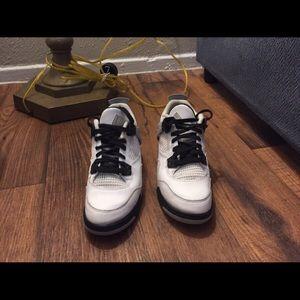 Nike white concrete